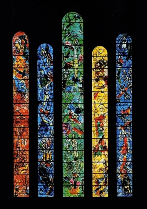 Fraumunster Zurich Chagall Five Windows