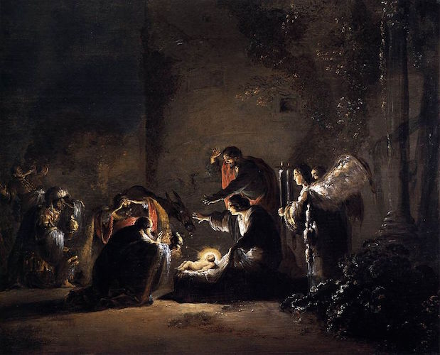 Leonaert_Bramer_-_The_Adoration_of_the_Magi Full