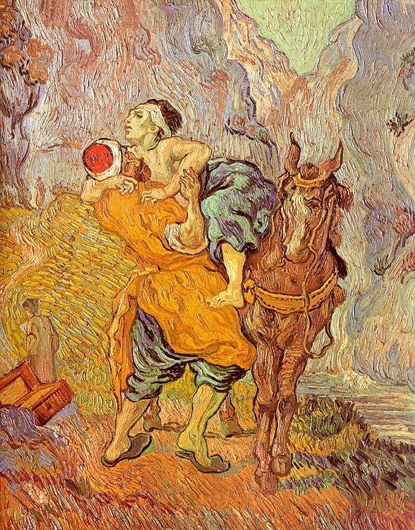 Van Gogh Good Samaritan, Easter Art